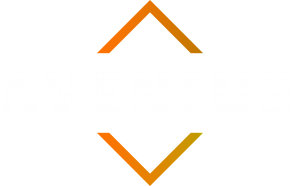 Aventus Transparent Logo White